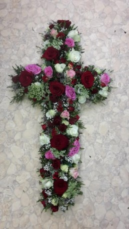 Mixed Rose Cross Tribute