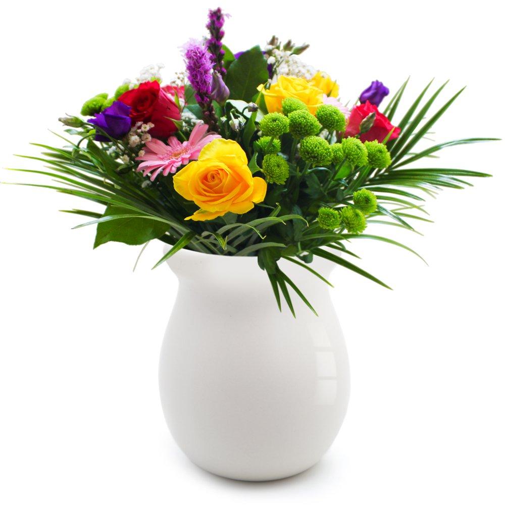 Flowers In Vase: In The Garden Vase