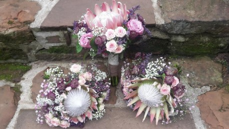 Contemporary Wedding Posy