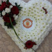 Manchester Unite Heart tribute