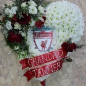 Liverpool Heart Tribute